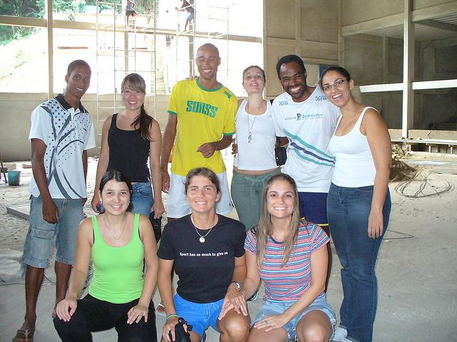 Ligia, Si, Gabi, Amanda et Gwen – Mars 2008