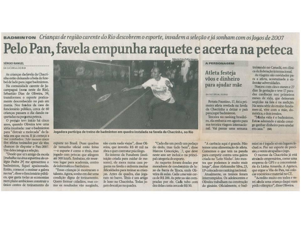 2005 07 03 – Folha de São Paulo