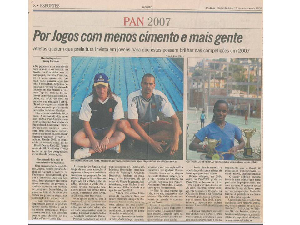 2005 09 19 – O Globo