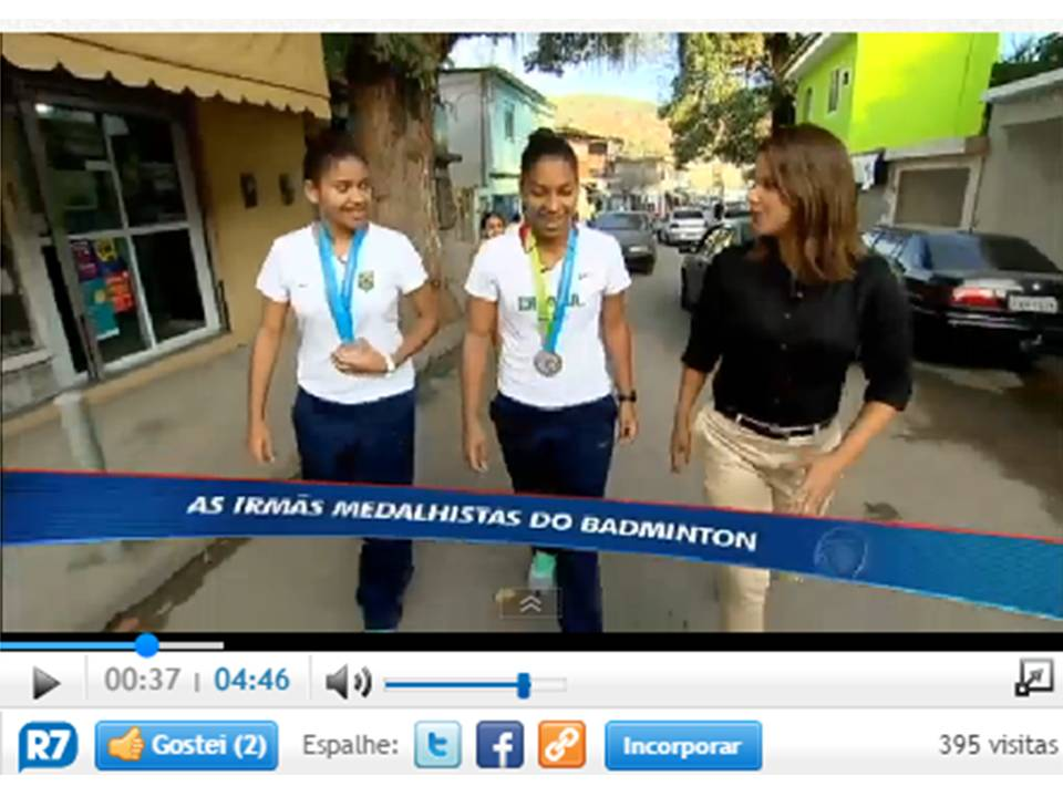 As irmãs medalhistas do Badminton – R7 – Julho 2015