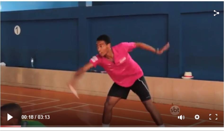 REPORTAGEM: Samba e Badminton, uma combinação perfeita
