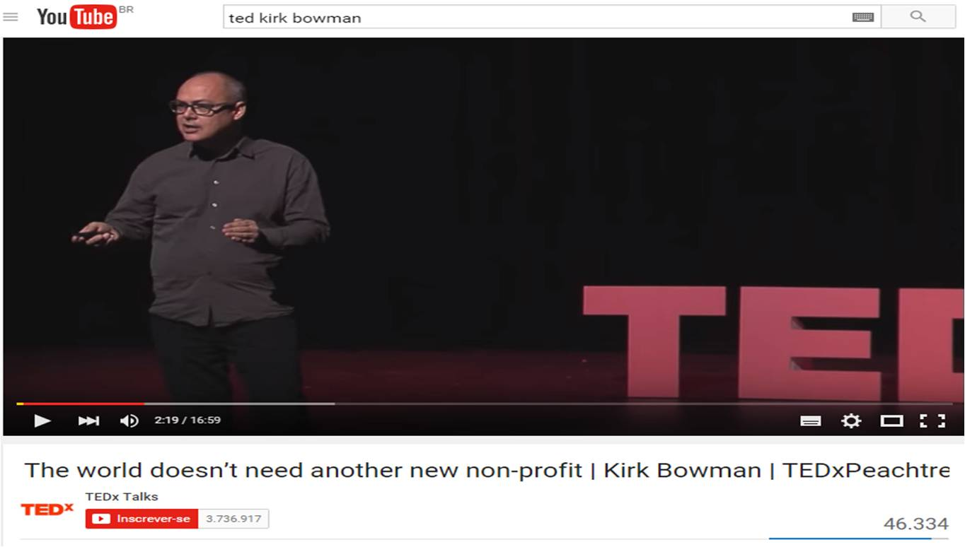 The world doesn't need another new non-profit | Kirk Bowman | TEDxPeachtree – Dez 2015