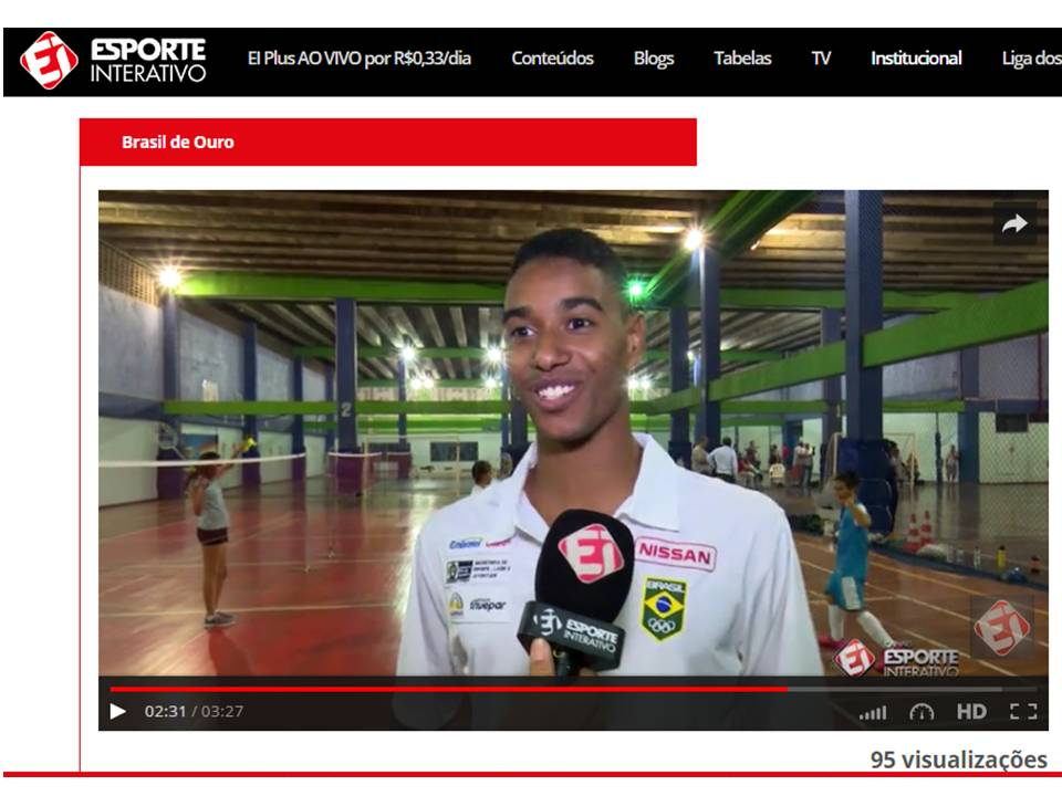 Brazil N1 in Badminton tells us his training for Rio 2016 – May 2016
