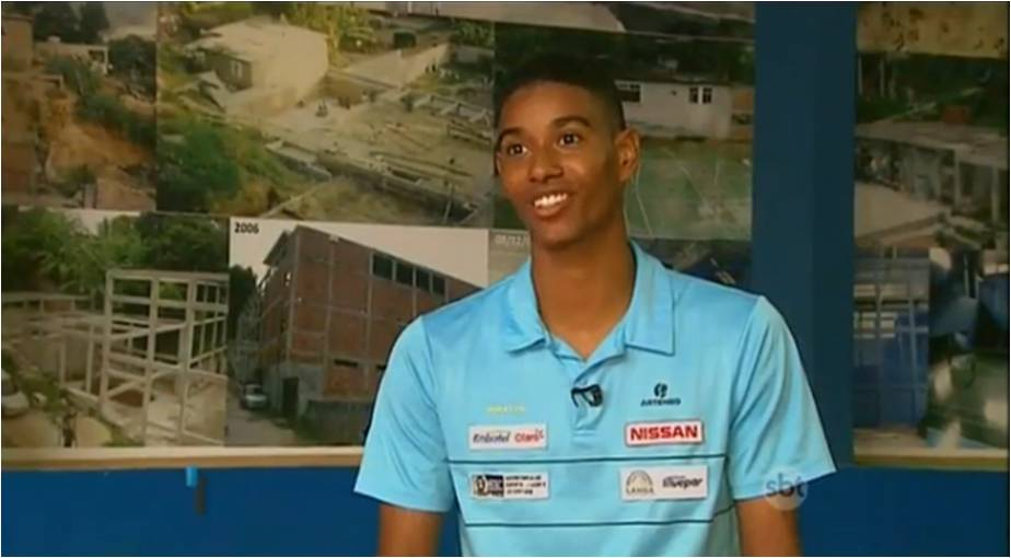 Young man educated through a social project in search of an olimpic medal in Rio! – May 2016
