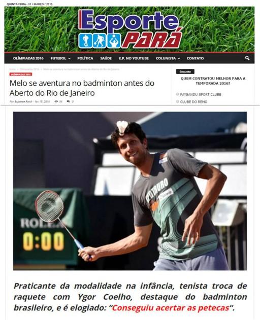 2016 02 15 Esporte Para