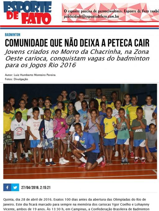 2016 04 27 Esporte de Fato