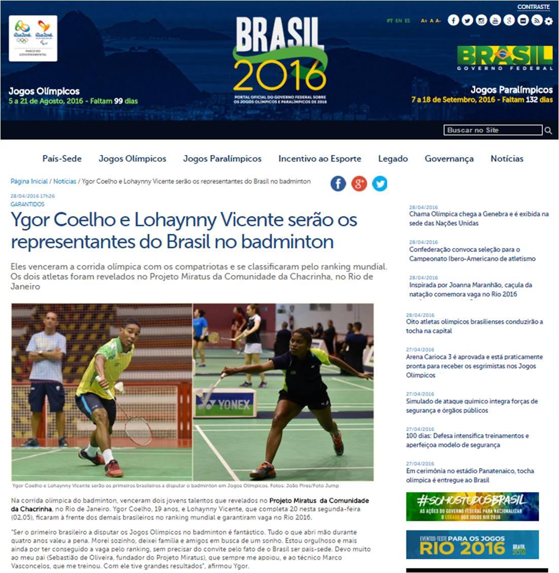 2016 04 28 Ministerio Esporte