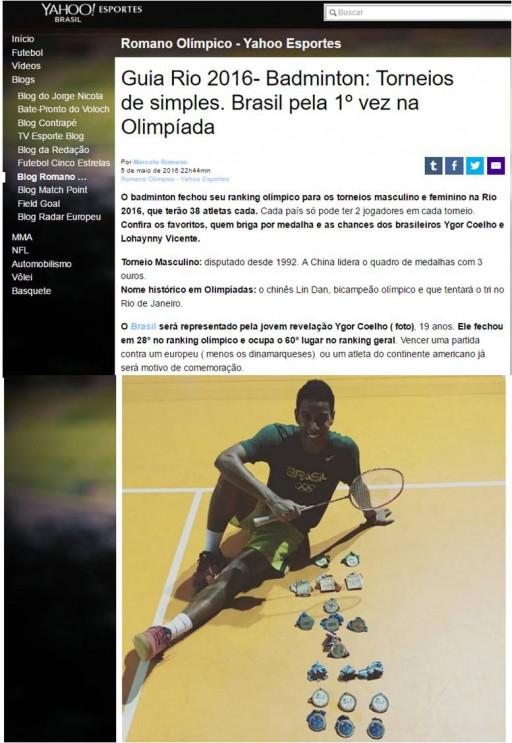 2016 05 05 Blog Romano Olimpico