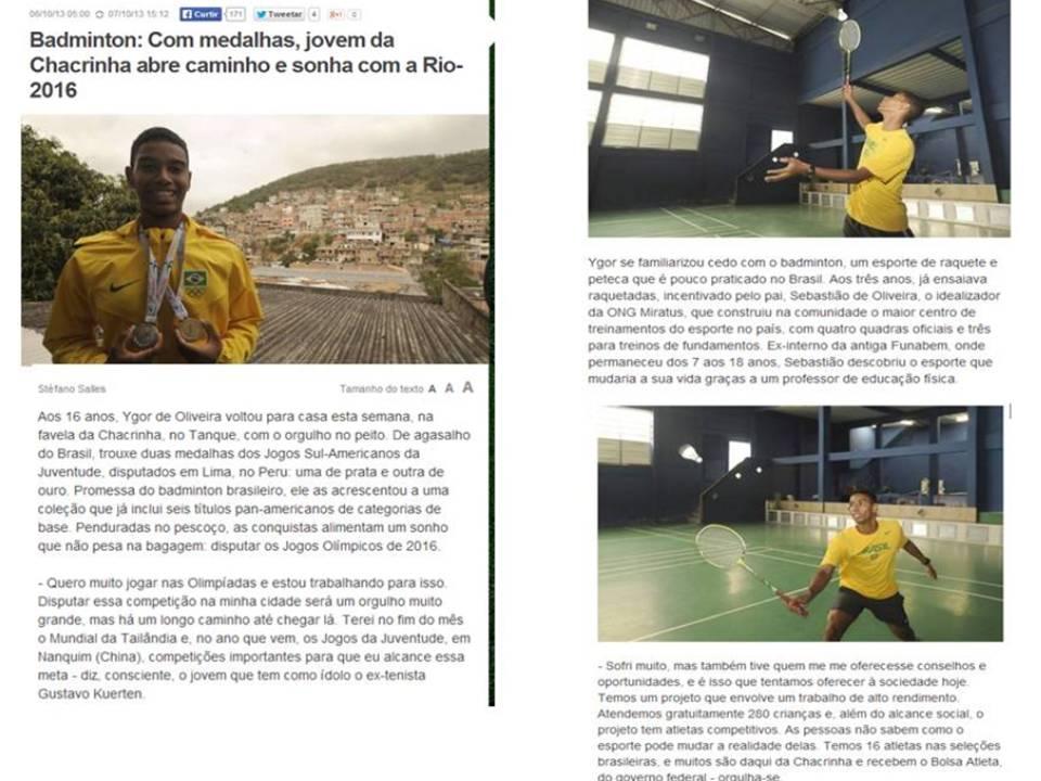 2013 10 06 Extra Globo.com