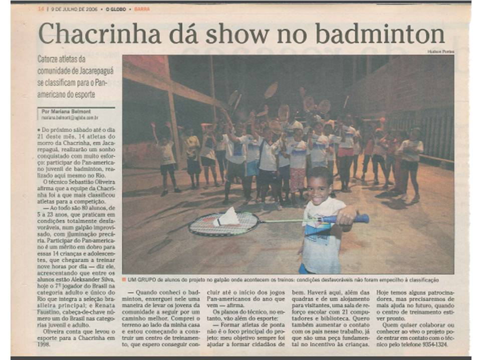 2006 07 09 O Globo