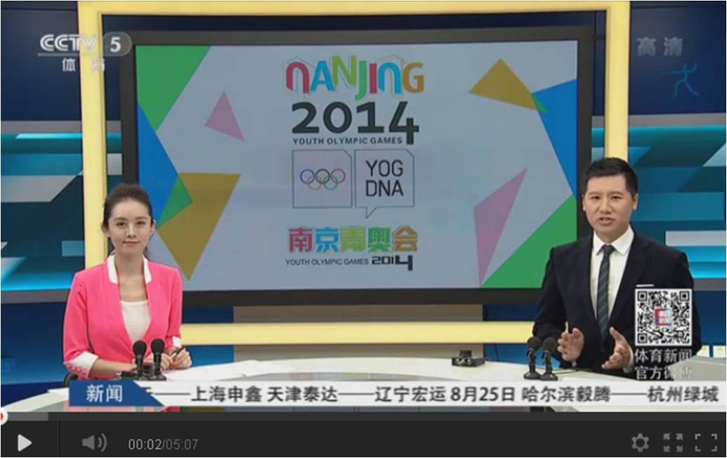 Reportagem Nanjing 3 – TV Chinesa (CN) – Agosto 2014