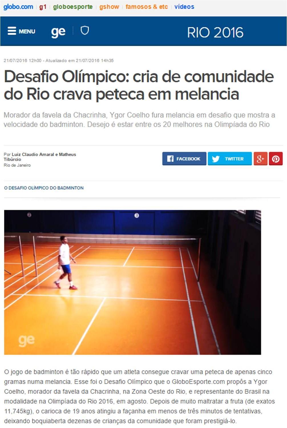2016 07 21 Globo.com