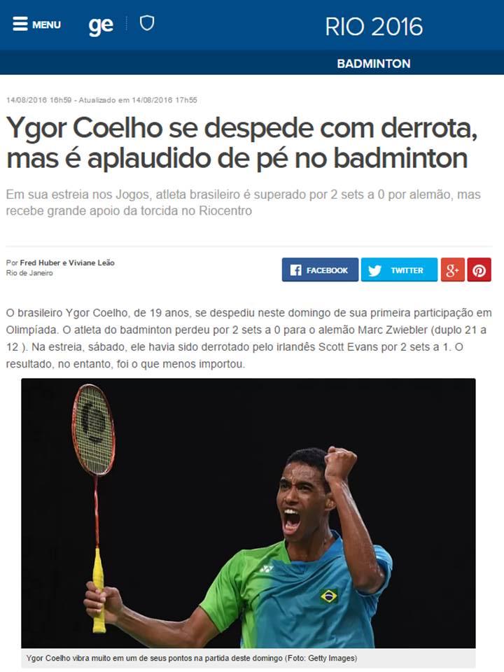 2016 08 14 Globo Esporte