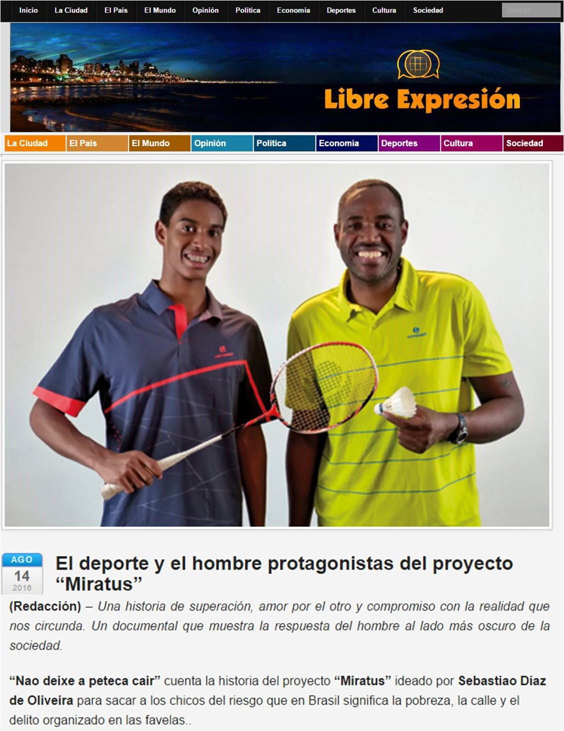 2008 08 14 Libre Expresion (ES)