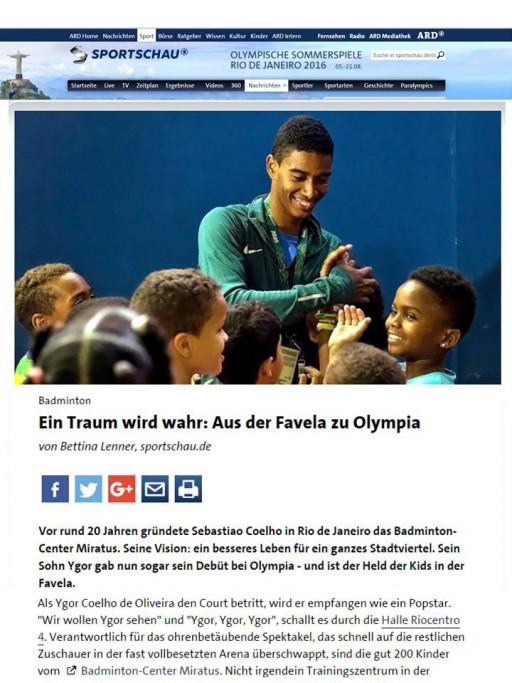 2016 08 14 Sportschau ARD