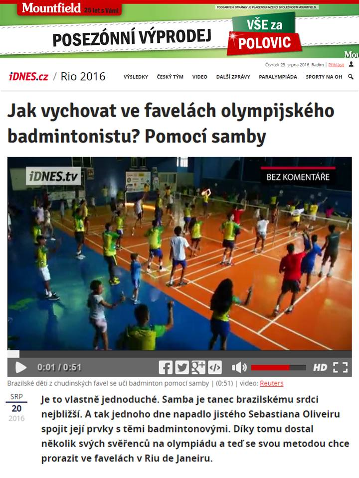 2016 08 20 Idnes.cz – Rep. Checa (CZ)