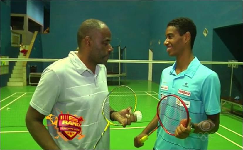 Ygor Coelho – 1° brasileiro em busca do ouro olímpico no badminton – Band – Jul 2016