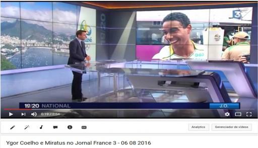 Ygor no Jornal da France 3