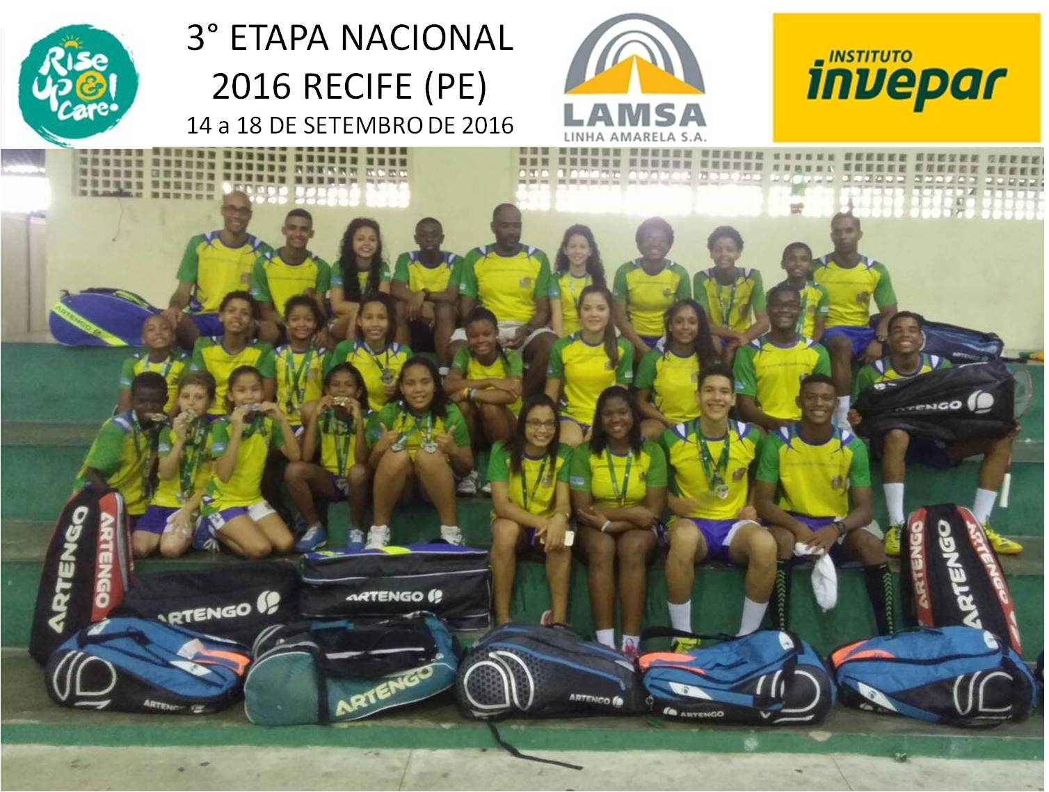 18/09/16: Show time for Miratus at III National Championship in Recife !
