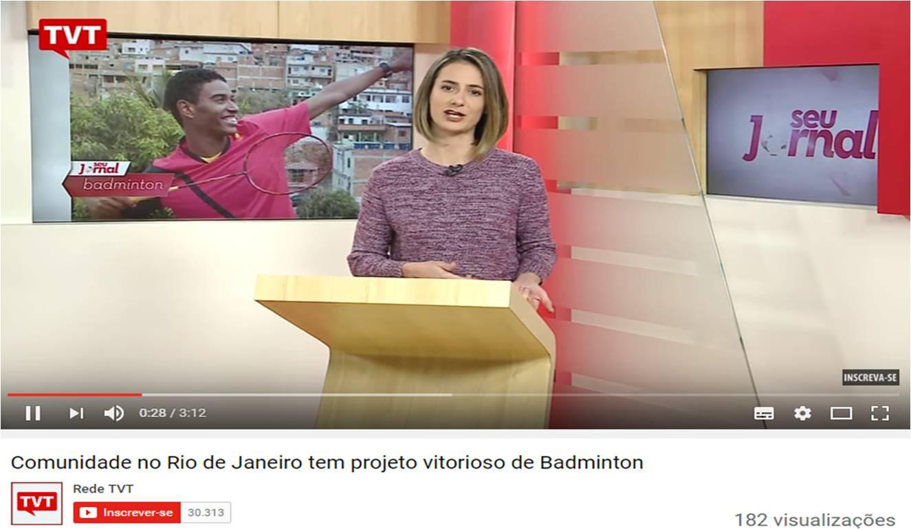 Comunidade do RJ tem projeto vitorioso – Rede TVT – Ago 2016