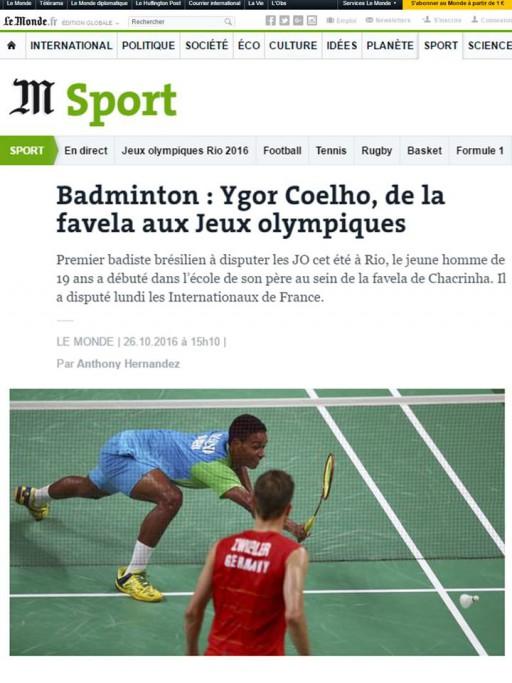 2016 10 26 Le Monde