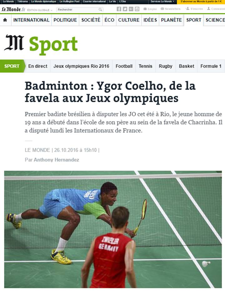 2016 10 26 Le Monde (FR)