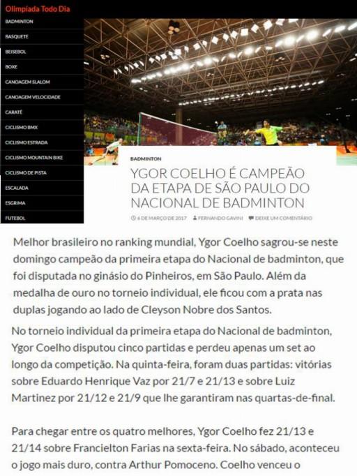 2017 03 06 Olimpiada Todo Dia