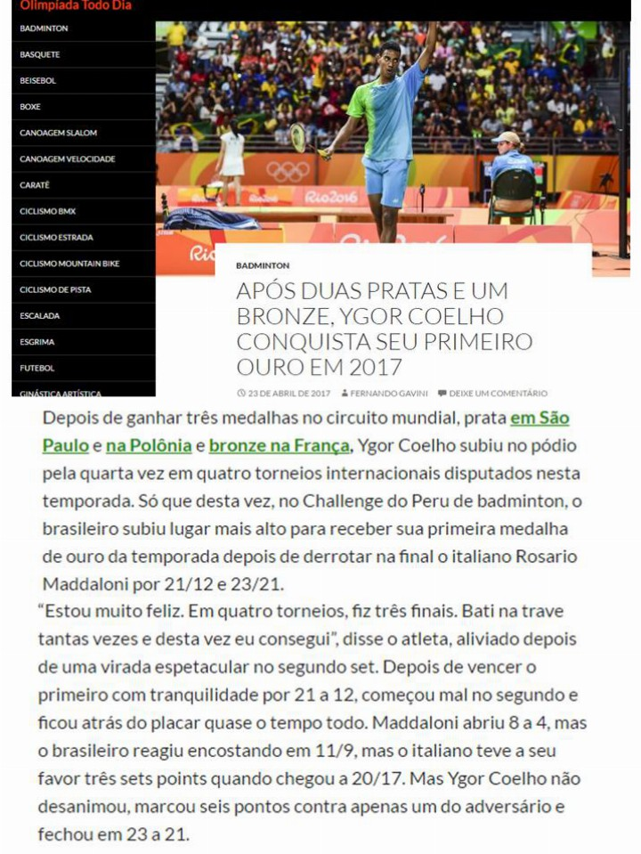 2017 04 23 Olimpíada Todo Dia