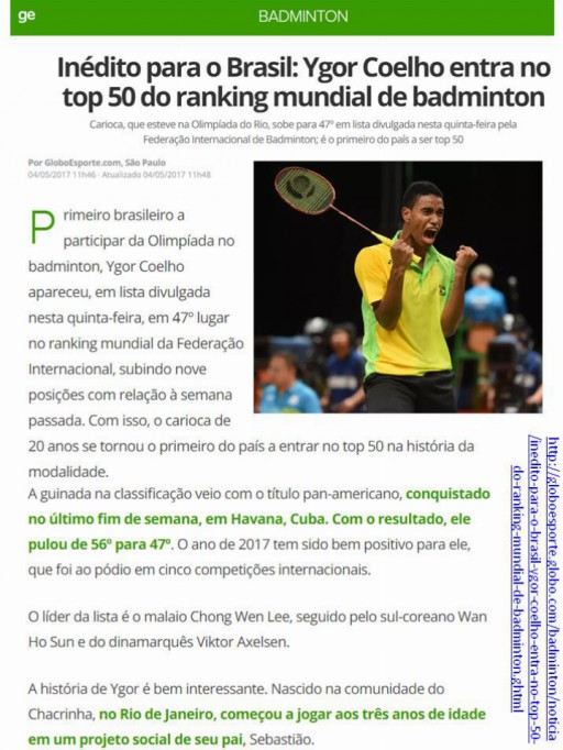 2017 05 04 Globo Esporte