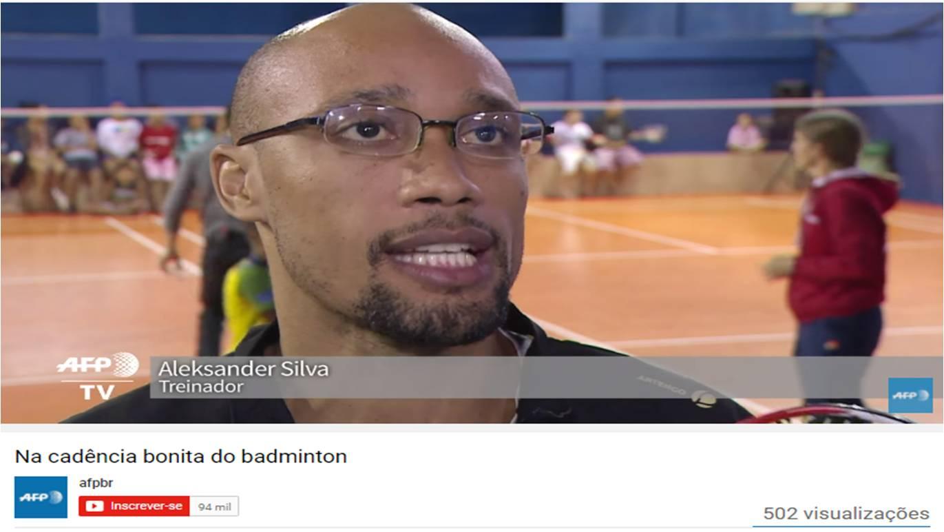 Na cadência bonita do badminton – AFP – Agosto 2016