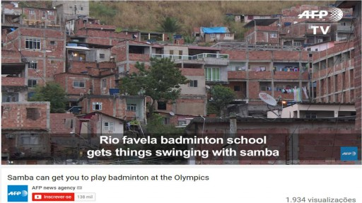 Samba can get you to the Olympics