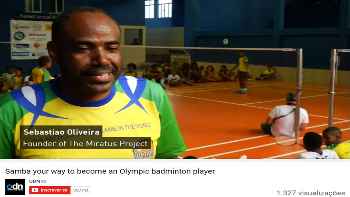 Samba way to become an Olympic player (EN) – ODN – August 2016
