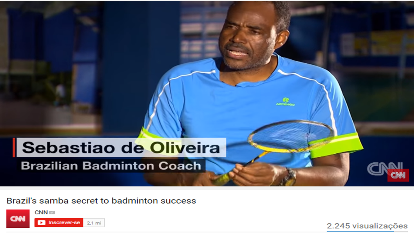 Brazil's samba secret to badminton success (EN) – CNN – August 2016