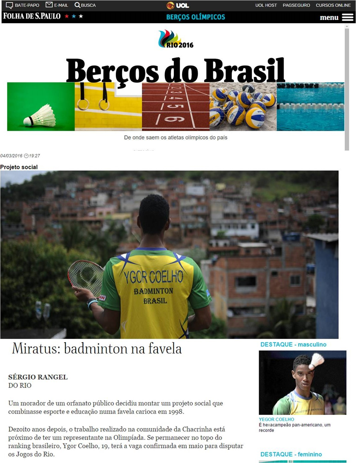 2016 03 04 Folha de SP