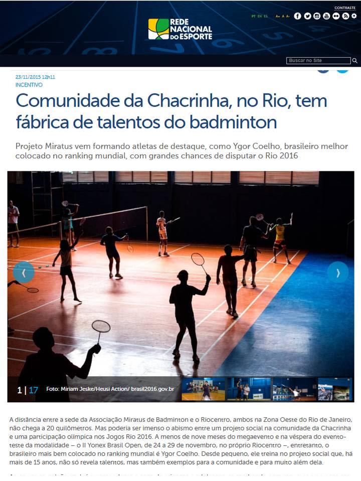 2015 11 23 Rede do Esporte