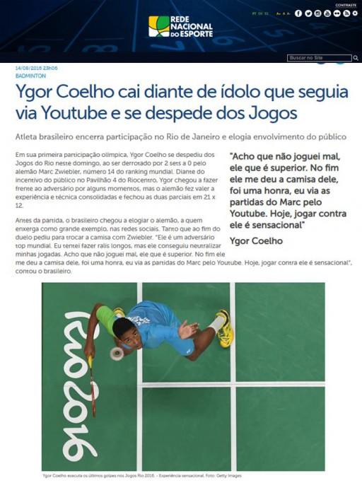 2016 08 14 Rede Nacional Esporte