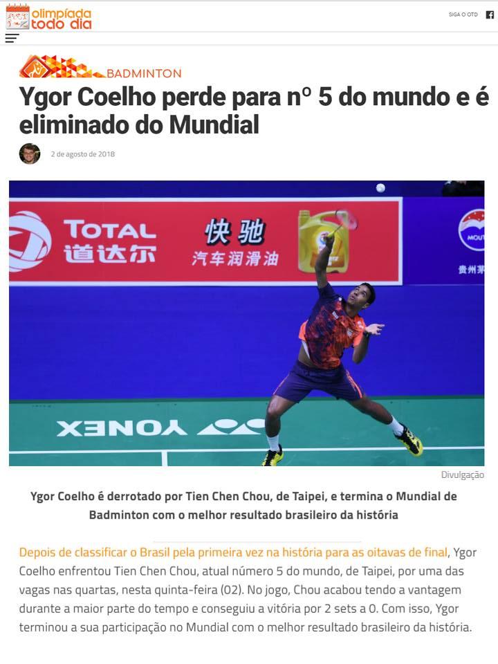 2018 08 02 Olimpíada Todo Dia