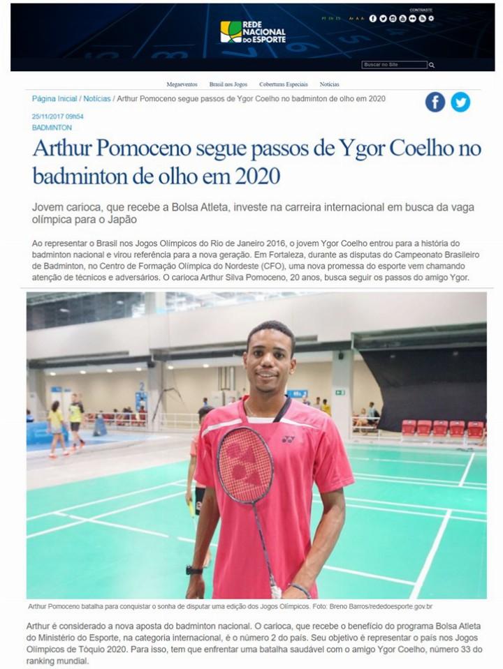2017 11 25 Rede Nacional do Esporte