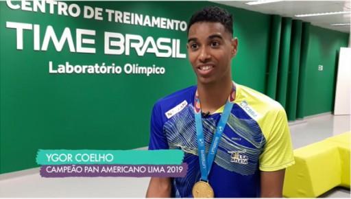 Trajetoria do carioca Ygor Coelho